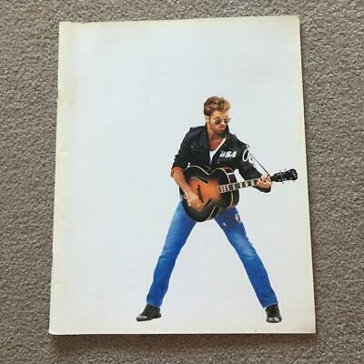George Michael Faith Tour  Programme 1988 • 35£