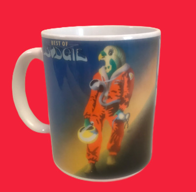 Budgie Best Of 1975-album Cover- On A Mug  • 8.99£