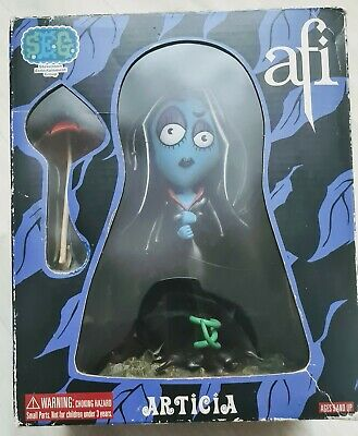 AFI Punk Articia Vinyl Doll Figure, Rare. A Fire Inside. • 40£