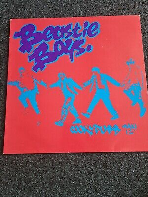 BEASTIE BOYS COOKYPUSS 12  MAXI . Very Rare Hard  To Get Hold Of .only 1 On Ebay • 11.50£