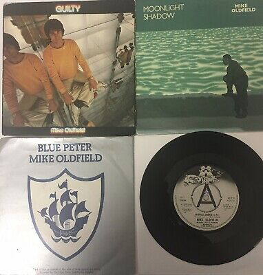 "Mike Oldfield. Job Lot. 5 X 7"" Vinyl Singles. All A Sides Played No Skips. • 1.90£"