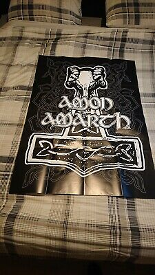 Amon Amarth Poster - Behemoth / Iron Maiden • 5£