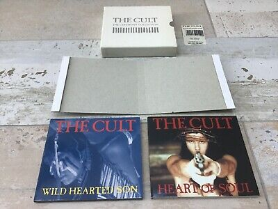 The Cult - Ceremony Collection Box - 2  X CD Single - BEG255CD - White EP - 1991 • 34.99£
