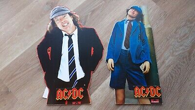 Acdc Promotional Display Cards Angus Young • 60£