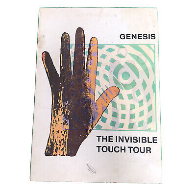 Genesis The Invisible Touch Tour 1987 Programme • 15£