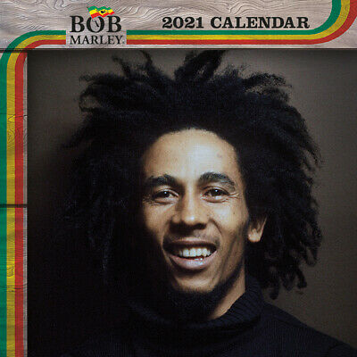 Bob Marley - Brand New Officially Licensed 2021 Calendar - C21009 • 9.99£