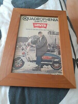 Quadrophenia Framed Picture  • 16.99£
