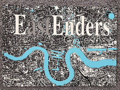 ECLIPSE Eastenders Rave Flyer 4th 11th 18th 25th April 1992 Coventry • 11.50£