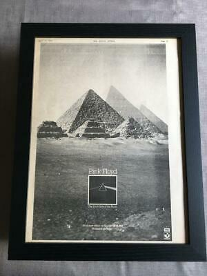 Pink Floyd Dark Side Of The Moon  Framed Advert / Ad  18  X 14  • 80£
