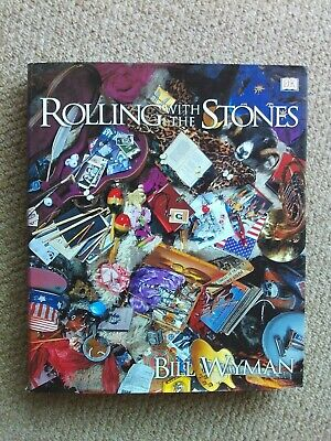 Rolling With The Stones-by Bill Wyman-dk Book. • 5.25£