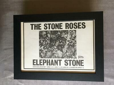 Stone Roses Elephant Stone  Framed  A4 Advert • 32.50£