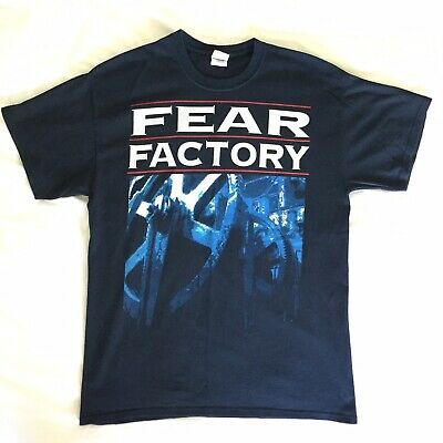FEAR FACTORY - Fear Is The Mindkiller Vintage T-shirt Genuine Band Merch Size L • 18£