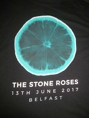 THE STONE ROSES  Belfast 13 June 2017  XL Extra Large Event T-Shirt • 5.30£