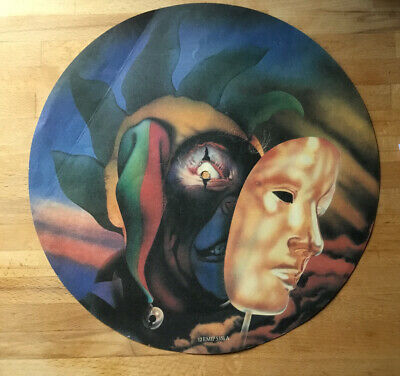 Vintage Marillion 'Market Square Heroes' - Picture Disc Insert (graphic Only) • 7.50£