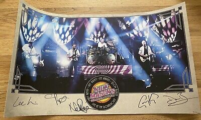 Nick Mason SIGNED Saucerful Of Secrets Lithograph Poster Pink Floyd Numbered New • 99.99£