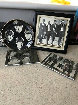 BEATLES PLATE AND PHOTO's • 10£