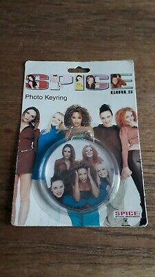 Spice Girls Official Merchandise Photo Keyring • 10£