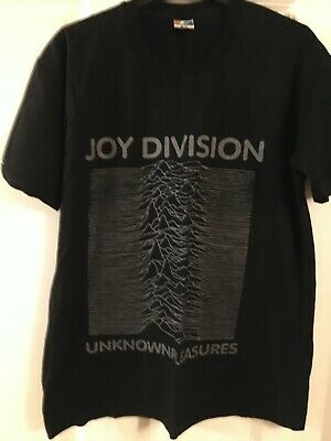 Joy Division Unknown Pleasures New Order T Shirt Size L Never Worn • 4.99£