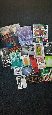 Job Lot Rave Flyers From 1990 Onwards  • 6£