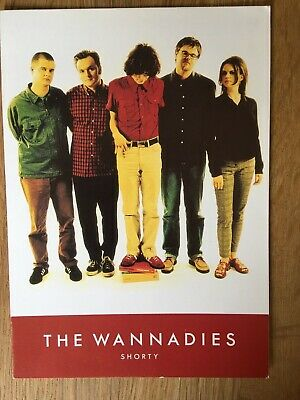 The Wannadies - Shorty - Band Flyer • 1.50£