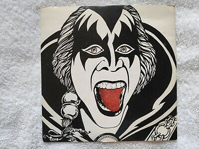 Kiss -‎ Killer - UK 7in Vinyl Single - Tongue Gimmick Sleeve - KISS 003 • 25£