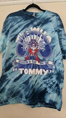 VINTAGE 80s THE WHO TOMMY 1989 T SHIRT XL Slim Fit Rare • 10£