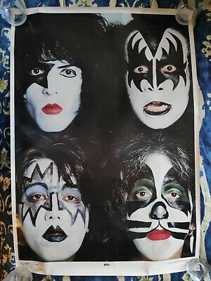 Kiss - Dynasty Cover Poster - 33in X 23in - Original Aucoin 1979 • 60£