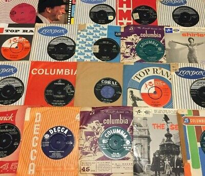 Instant Record Collection Starter Pack 15 X 7'' Vinyl Singles 60s/70s/80s/90s • 9.99£