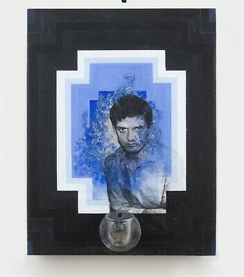 Ian Curtis / Joy Division / Painting Installation / An Amazing Work Of Art • 250£