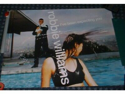 ROBBIE WILLIAMS I've Been Expecting You. Original UK PROMO Poster Take That  • 23.99£