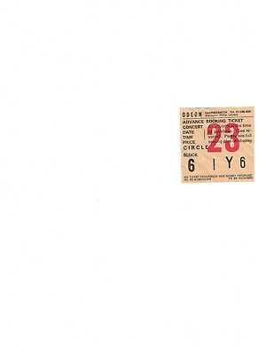 Blondie 1978 European Tour Hammersmith Odeon Concert Ticket • 4.30£