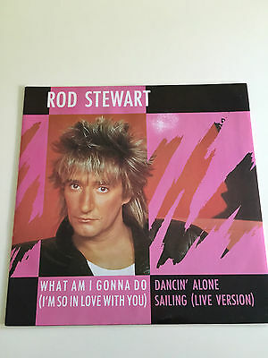 Rod Stewart – What Am I Gonna Do (I'm So In Love With You) 12  Inch Vinyl W9564 • 9.99£