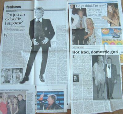 ROD STEWART UK Clippings / Cuttings INTERVIEW • 4.99£