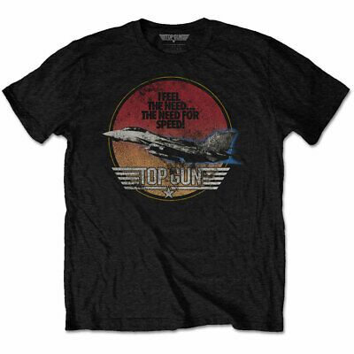 TOP GUN UNISEX TEE: SPEED FIGHTER - 100% Official T-shirt With Tags • 11.95£