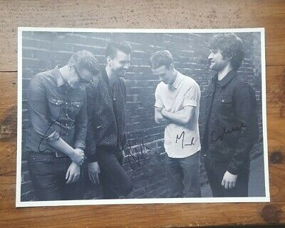 Courteeners Photo Signed Liam Fray Lp   7  Vinyl • 40£