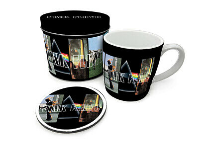 Pink Floyd - Album Covers - Mug And Coaster In Tin Official Gift Set GP85533 • 9.99£