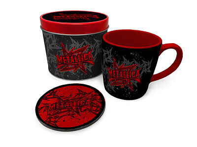 Metallica - Stars And Wings - Mug And Coaster In Tin Official Gift Set GP85534 • 9.99£