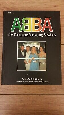 Abba - The Complete Recording Sessions - Book - Carl Magnus Palm 1994 Near New ! • 49.99£
