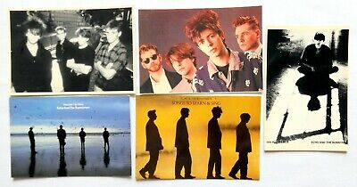 ECHO AND THE BUNNYMEN POSTCARDS 5 X Vintage Echo & The Bunnymen Postcards • 2.95£