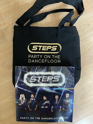 Steps Party On The Dance Floor 2017 Official Tour Programme & Bag Christmas Xmas • 22.99£
