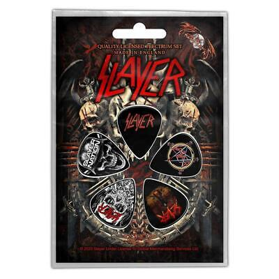 Official Licensed - Slayer - Demonic Plectrum / Picks Pack Thrash Metal • 7.50£