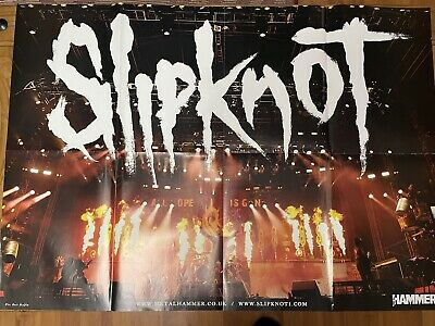 Slipknot & Dimmu Borgir Double Sided Poster. Metal Hammer. 840 X 600mm. • 2.49£