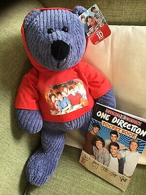 One Direction Teddy Bear &one Direction Pocket Book ( Official Merchandice • 5.99£