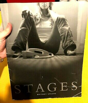 Britney Spears Stages Book W/ DVD & Poster - GOOD CONDITION - RARE • 7.50£