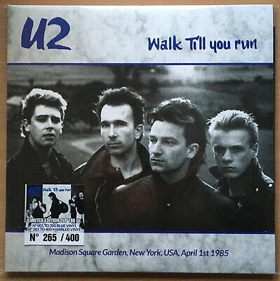 U2  Walk Till You Run   2020 Limited Numbered Colour Vinyl 2LP  • 49.99£