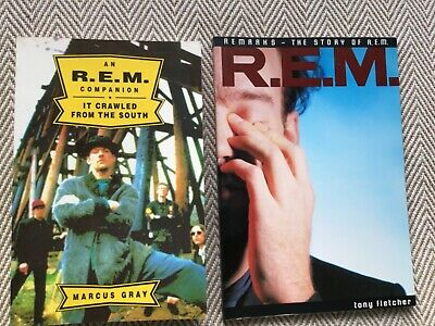2 Books : Remarks, R.e,m. & An R.e.m. Companion, It Crawled From The South • 5.99£