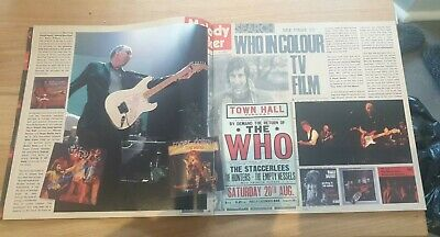 The Who Tour Collectors Programme  • 20£
