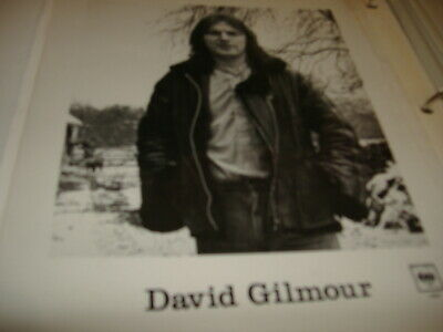 Pink Floyd David Gilmour   Promo Picture Columbia Issue 4 Excellent • 21.76£