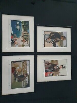 Michael Spencer Jones Signed Photos Oasis Framed In Mint Condition X4 • 230£