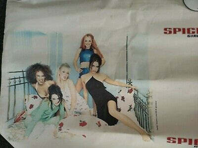 Spice Girls  Sell Out  Mega Rare Withdrawn Wallpaper • 30£